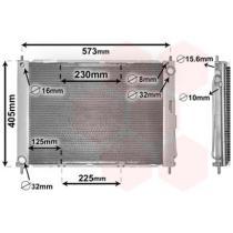 Btps 114.4300M405V - RAD AGUA + AC RENAULT CLIO II 1.5DCI 01-